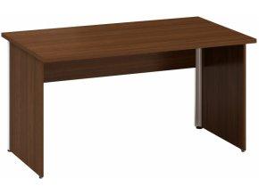 Kancelářský psací stůl CLASSIC A, 1400 x 800 mm, dezén ořech