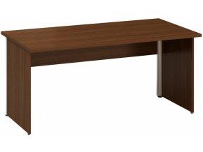 Kancelářský psací stůl CLASSIC A, 1600 x 800 mm, ořech