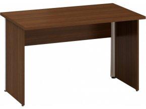 Kancelářský psací stůl CLASSIC A, 1200 x 700 mm, ořech