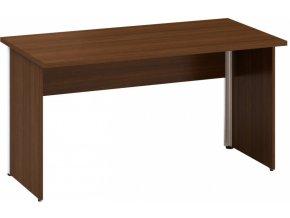 Kancelářský psací stůl CLASSIC A, 1400 x 700 mm, ořech