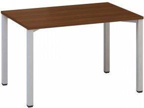 Kancelářský psací stůl CLASSIC B, 1200 x 800 mm, ořech