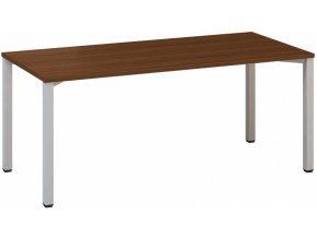 Kancelářský psací stůl CLASSIC B, 1800 x 800 mm, dezén ořech
