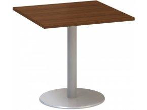 Stůl konferenční CLASSIC A, 800 x 800 x 742 mm, ořech