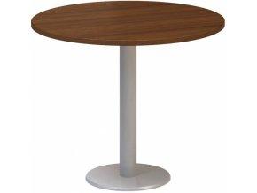 Stůl konferenční CLASSIC A, 900 x 900 x 742 mm, ořech