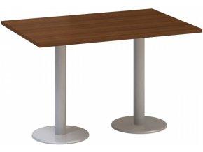 Stůl konferenční CLASSIC A, 1200 x 800 x 742 mm, ořech