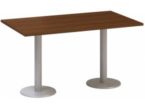Stůl konferenční CLASSIC A, 1400 x 800 x 742 mm, ořech