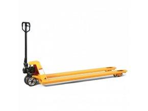 Paletový vozík s délkou vidlic 2000 mm, nosnost 2000 kg, pryžová kola