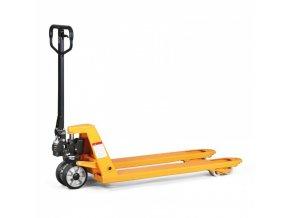 Paletovací vozík s rychlozdvihem, nosnost 2000 kg, pryžová kola