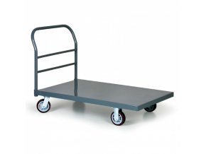 Ocelový plošinový vozík nosnost 900 kg, 915x610 mm