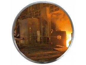 Zrcadla do prostor s vysokými teplotami a hygienické provozy, kruhový