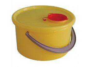 Plastová nádoba na zdravotnický odpad 5 L