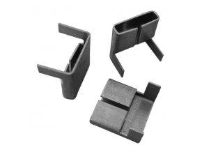 Spona pro ocelovou pásku, typ R 16 mm, 1800 ks
