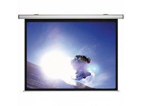 Shrnovací projekční plátno Design, elektrické 1800 x 1350 mm
