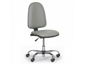 Dílenská pracovní židle TORINO, šedá