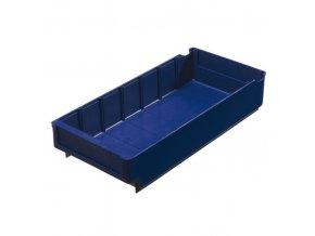 Plastová regálová přepravka SA 400 x 188 x 80 mm