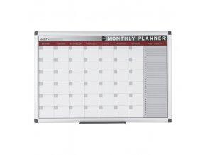 Měsíční plánovací tabule, magnetická, 60x45 cm