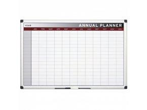 Roční plánovací tabule, měsíce, 90x60 cm
