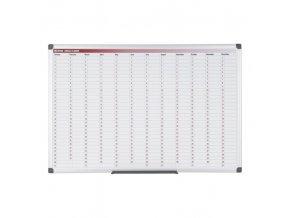 Roční plánovací tabule, dny, 900x600 mm