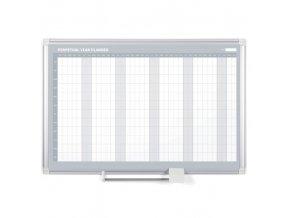 Roční plánovací tabule LUX, 900x600 mm