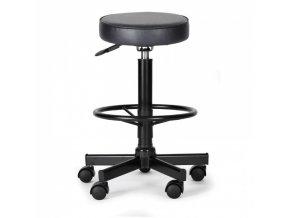 Dílenská pracovní židle s opěrným kruhem