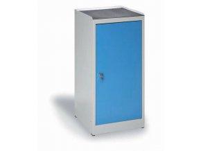 Dílenská skříňka na nářadí KOVO, modré dveře