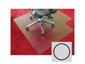 Podložka pod židli na koberce - Polypropylen, kruh, 1200 mm