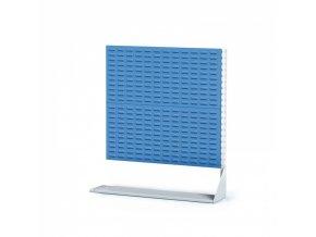 Perforované stojany s panely na boxy, 2 patra, přístavné pole
