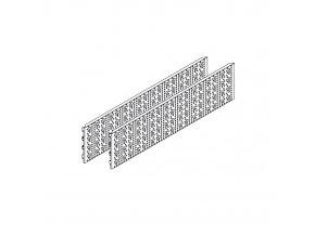 Plechové perforované panely