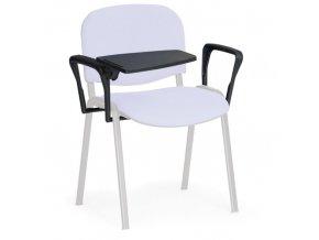 2 područky a plastový stolek pro konferenční židle SMART, ISO, VIVA, SMILE