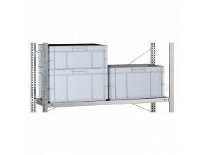Přídavná police pro regály CLIP, 200 kg, 1500 x 400 mm