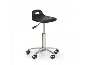 Pracovní stolička PUR s úchytem