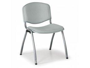 Konferenční židle LIVORNO, šedá