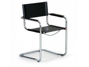 Kožená konferenční židle MISTA