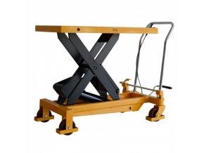 Hydraulický zvedací stůl TF, nosnost 750 kg, zdvih 990 mm