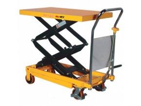 Hydraulický zvedací stůl, nosnost 700 kg, zdvih 1500 mm