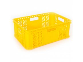 Plastová přepravka na pečivo, typ S 220-15, 600 x 400 x 220 mm