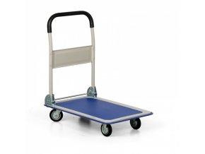 Skládací plošinový vozík, nosnost 150 kg