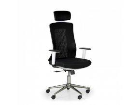 Kancelářská židle EDEN, černá/bílá