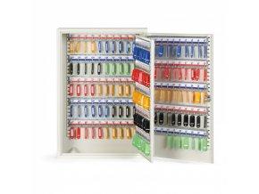 Kovová skříňka na klíče 55 x 38 x 14 cm, 200 ks