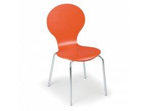 Dřevěná jídelní židle ORANGE, 4 ks