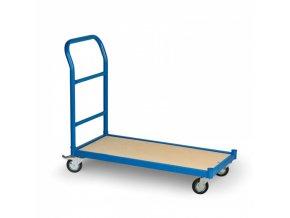 Plošinový vozík, plošina 940 x 435 mm, 250 kg