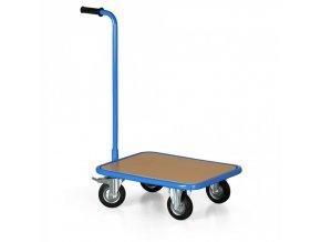 Plošinový vozík s rukojetí