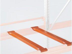Příčníky pro paletové regály, hloubka 800 mm, 2 ks