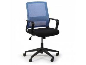 Kancelářská židle Low, modrá