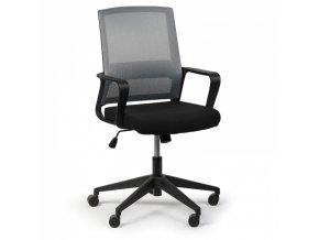 Kancelářská židle Low, šedá