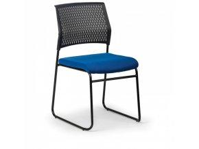 Konferenční židle Mystic, Modrá