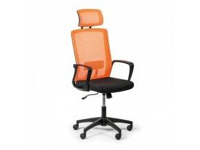 Kancelářská židle Base plus, oranžová