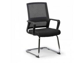Konferenční židle Low, černá