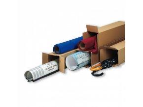 Kartonová krabice - tubus, otevírání na kratší straně krabice 800x150x150 mm, 30 ks