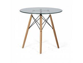 Skleněný stůl VIDRIO, výška 750 mm